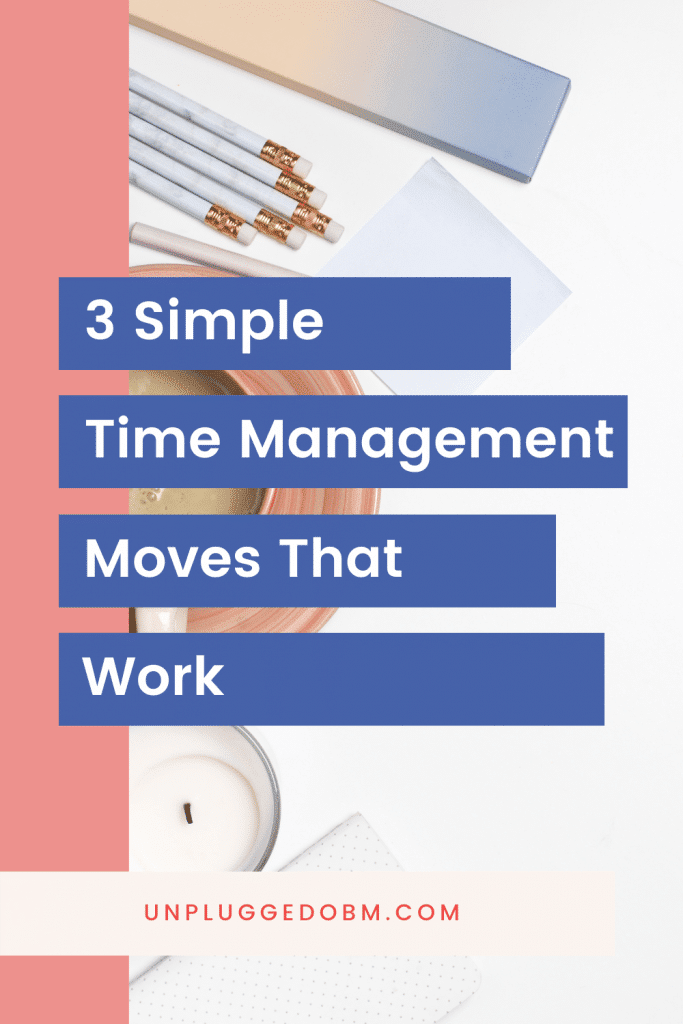 3 Simple Time Management Moves That Work - Image